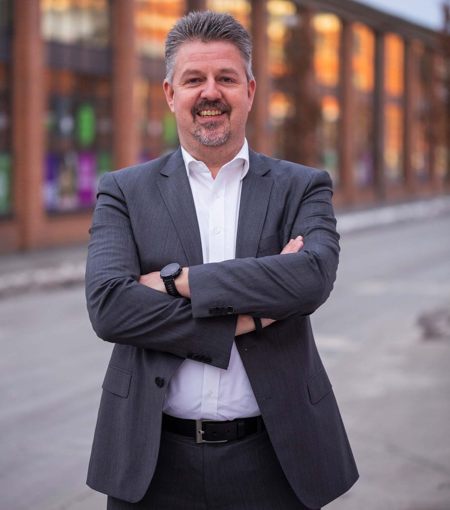 Esoft Salgs- og Markedschef Michael Helding