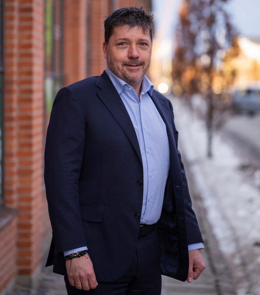 Esoft CEO Ian Holmgaard